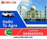 Online Car Rental from Delhi to Agra
