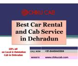 Get the lowest fares cab in Dehradun by Chiku cab