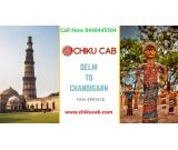 Chiku cab is the best car hire from Delhi to Chandigarh.