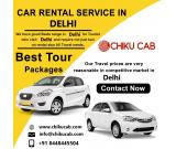 Book Car on Rent in Delhi at low prices on Chiku Cab.