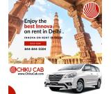 Book innova on rent in Delhi at very competitive rates.