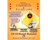 Best Selling Corporate & Allied Law Book for CA Final