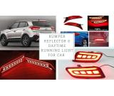 Buy led daytime running light (drl), rear bumper reflector & fog lamp for car