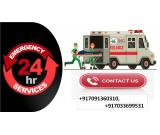 Gain Most Esteemed Road Ambulance Service in Dhanbad by King