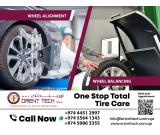 4 Wheel Alignment In Qatar | Car Wheel Maintenance Doha