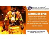 Diploma in Fire and Safety Management is 1 year Diploma program.