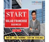 Start your solar franchise business | Become billionaire | Low investment | High ROI