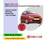 Book Chiku Cab Delhi taxi service for One-way & roundtrip.