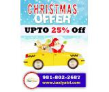 Taxi Service in Shimla | Upto 25% off | Christmas Offer