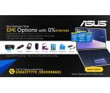 ASUS Laptop zero percent emi offer at bangalore asus exclusive store call 6366377770