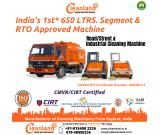 India's 1st RTO Approved Sweeping Machine