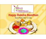 Order Online Rakhi Delivery in Delhi on the Same Day with Free Shipping Service