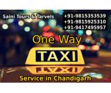 One way taxi service provider - Saini tours taxi services