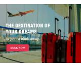 Low of cost domestic flight ticket bookings at Yathrabegins