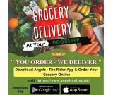 Online Grocery Delivery Services - Angels The Rider App