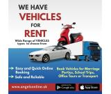 Book a Vehicle On Rent with Angels -The Rider App