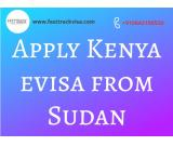 Apply Kenya eVisa from Sudan