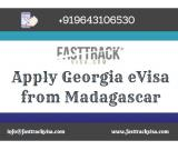 Apply Georgia eVisa from Madagascar