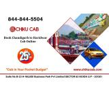 Book Chandigarh to Haridwar Cab Service for One Way