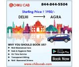 Book Delhi to Agra Taxi Service from Chiku Cab Service