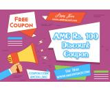 AMC Rs. 100 Discount Coupon Free