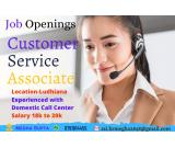 Position: Customer Service Associate – Only Males   Experience –1 year minimum