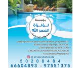 Swimming pool construction and maintenance works