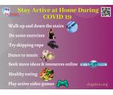 Tips To Stay Active At Home During COVID-19 Outbreak