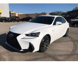 2017 Lexus IS 350 White