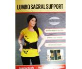 Lumbo Sacral Support with metal strip