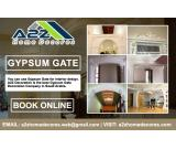 Gypsum Gate At A2Z Home Decores