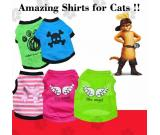 Shirts for Cats