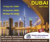 Dubai Visit Visa Packages in Cheap Rates