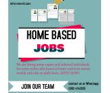 we provide you the best home based jobs