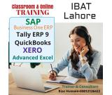 SAP / Tally / QuickBooks / Peachtree / Adv. Excel Online Training in Lahore Pakistan