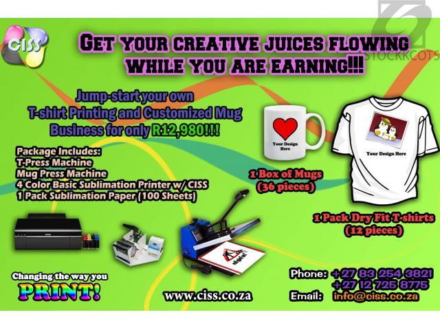 Customized Mug and T-Shirt Printing Business Package - Free ...