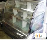 Cake Chiller Display Showcase (Floortype, Curve Glass)