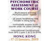Psychometric Assessment at Work Public Course BPS Level 1 & 2 – Hong Kong
