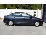 Blue 2007 Honda Civic