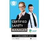 CERTIFIED SAFETY MANAGER (CSM)