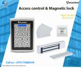 access control & magnetic lock