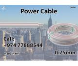 Power Cable 0.75mm