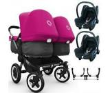 Bugaboo Donkey Twin Travel System Package 2 - Collection 2015