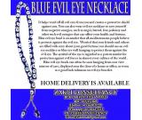 BLUE EVIL EYE NECKLACE