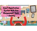 Event Registration System With Offering Free Tools At Eventry