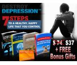 Destroy Depression in 7 Steps + Bonus Support