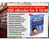 The 200 most popular eBooks super cheap