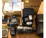 Nikon D810 with complete kits