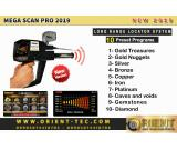 Mega Scan Pro 2019 - Gold & Metal Detector - 3 Search Systems