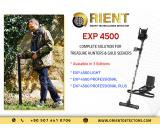 EXP 4500 3D ground scanner and metal detector